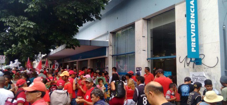 Mobilizações desta segunda pretendem encerrar a Reforma da Previdência