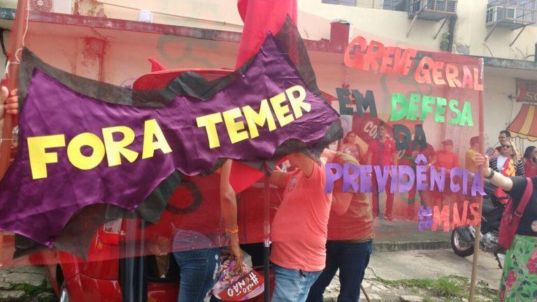Mobilizações contra a Reforma da Previdência acontecem hoje em todo o Brasil