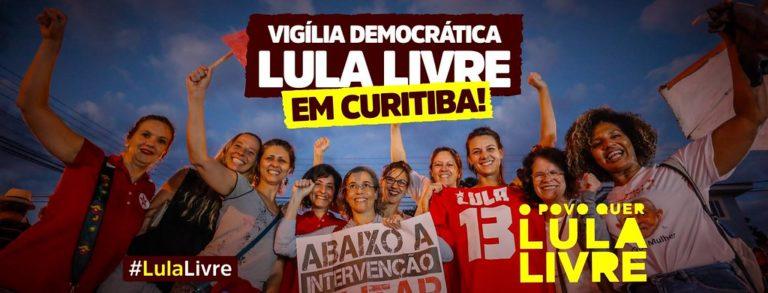Movimentos saem às ruas hoje (11) para exigir a liberdade de Lula