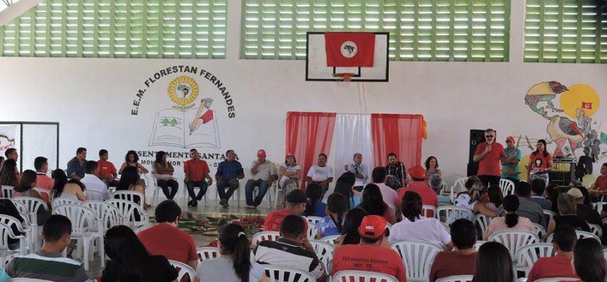 No ceará, assentamento Santana comemora 30 anos de luta e resistência