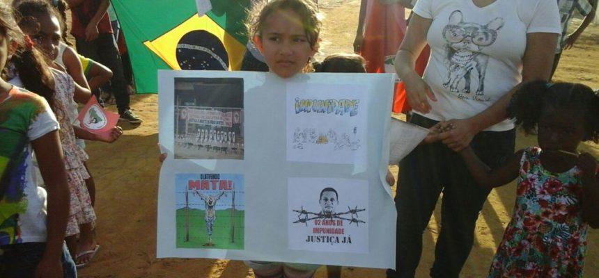 Na Bahia, Sem Terrinha denunciam a violência no campo