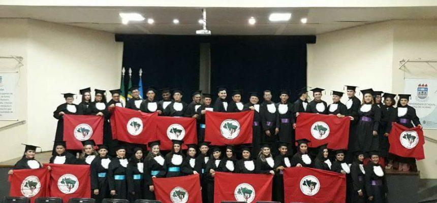 No Ceará, Sem Terra conquistam diploma da segunda Licenciatura em Educação do Campo
