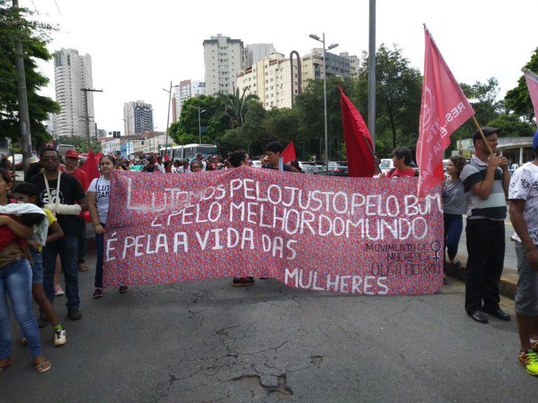 marcha e ocupação da Alego marcam as mobilizações deste 8 de março
