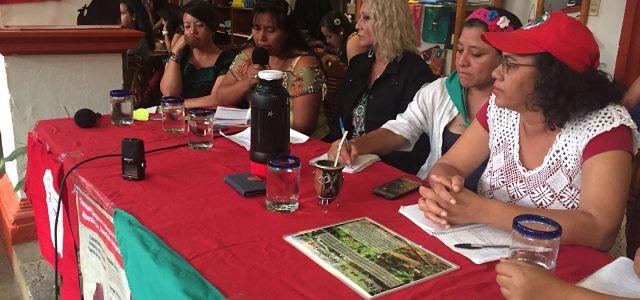 As zapatistas falam sobre o futuro das mulheres camponesas em luta