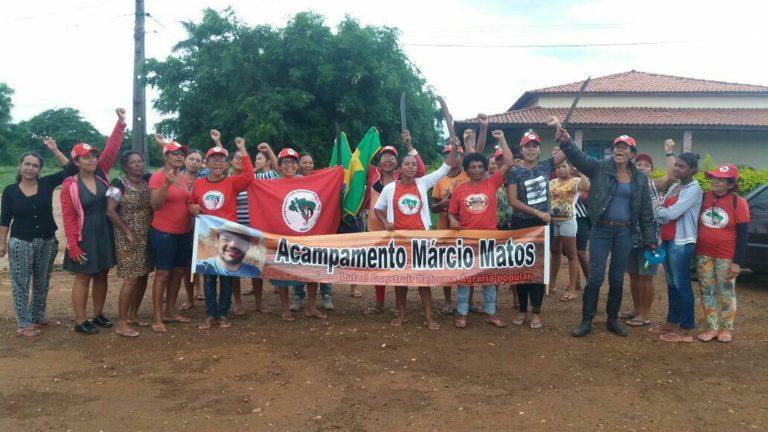 afirma dirigente do MST durante ocupação no Norte da Bahia