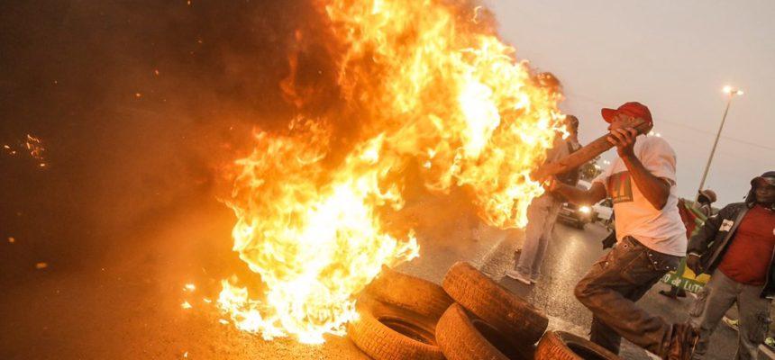 EM TEMPO REAL: Protestos contra o golpe trancam rodovias e ruas do país