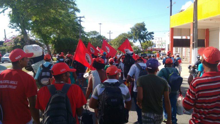 Trabalhadores e trabalhadoras iniciam Jornada de Luta em Sergipe