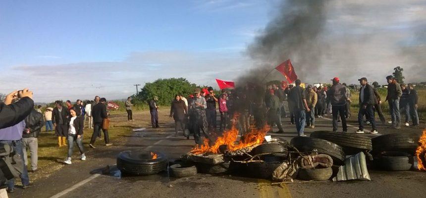 MST participa do Dia Nacional de Paralisações e Mobilização contra o Golpe no RS