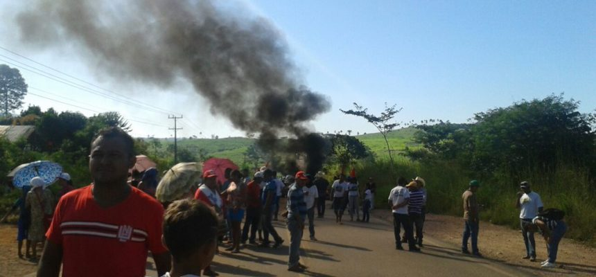 MST realiza bloqueios em Curionópolis e Parauapebas-PA