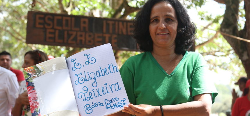 Acampamento Pátria Livre inaugura Escola Itinerante na região metropolitana de Belo Horizonte