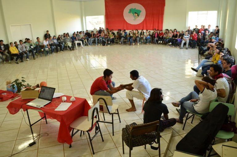 Juventude Sem Terra realiza encontro em SC