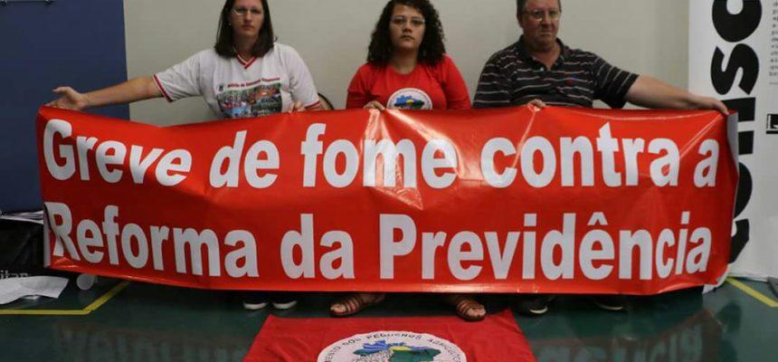 Mulheres do MST se solidarizam com agricultoras e agricultores em greve de fome