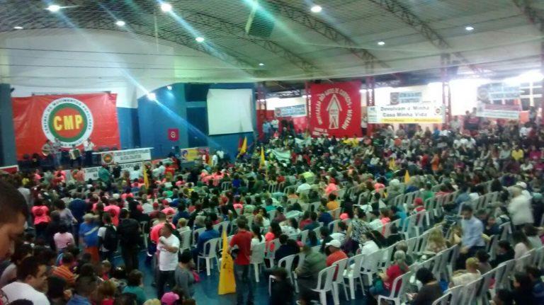 MST participa de debate sobre a conjuntura com a Frente Brasil Popular em São Paulo