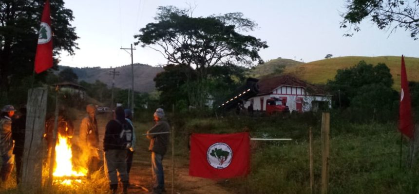 MST ocupa fazenda improdutiva de banco estrangeiro em Taubaté