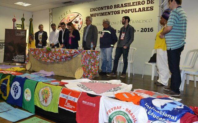 Teve início Encontro Brasileiro de Movimentos Populares em diálogo com o Papa Francisco