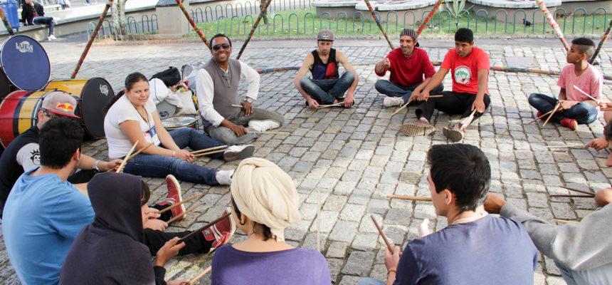 Jovens do MST participam de oficinas em Encontro da Região Sul