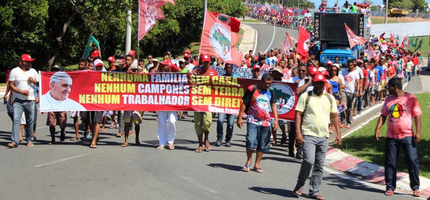 Contra extinção do MDA e pela Reforma Agrária, Sem Terra ocupam o Incra em toda Bahia