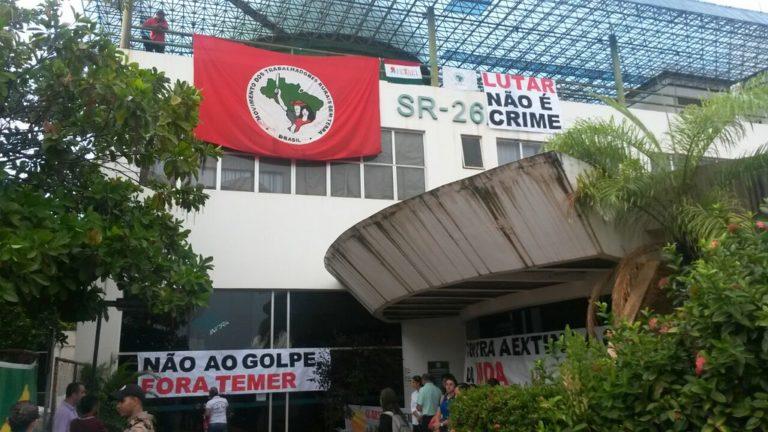Movimentos do Campo ocupam o INCRA em Palmas