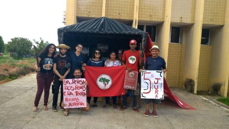 a 5° Jornada Universitária denuncia a criminalização do Movimento Populares