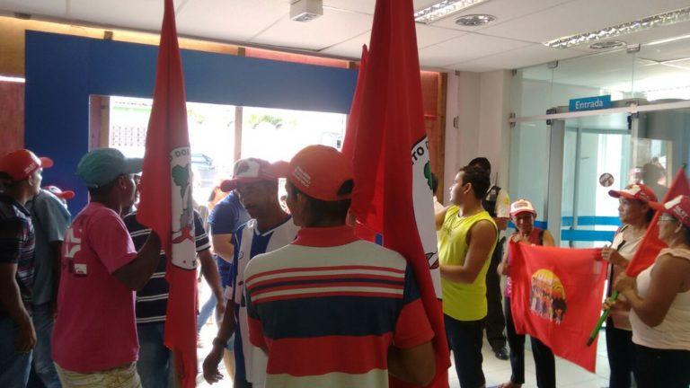 Sem Terra realizam atos em diversos municípios de Alagoas