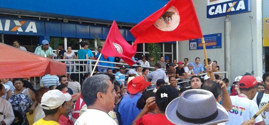 Camponeses do Ceará relizam manifestações em todo estado