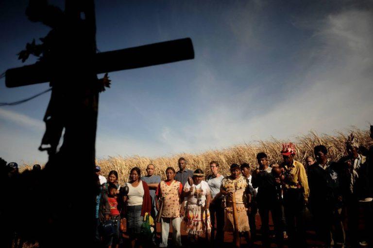 MST repudia massacre em terras Guarani Kaiowá no MS
