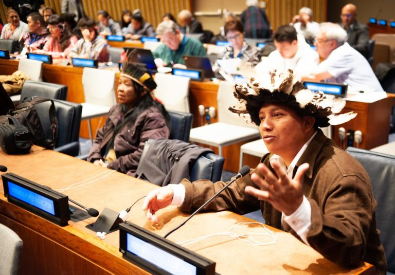 """""""Eu vim à ONU pedir ajuda para que não ocorra um massacre contra o meu povo"""""""