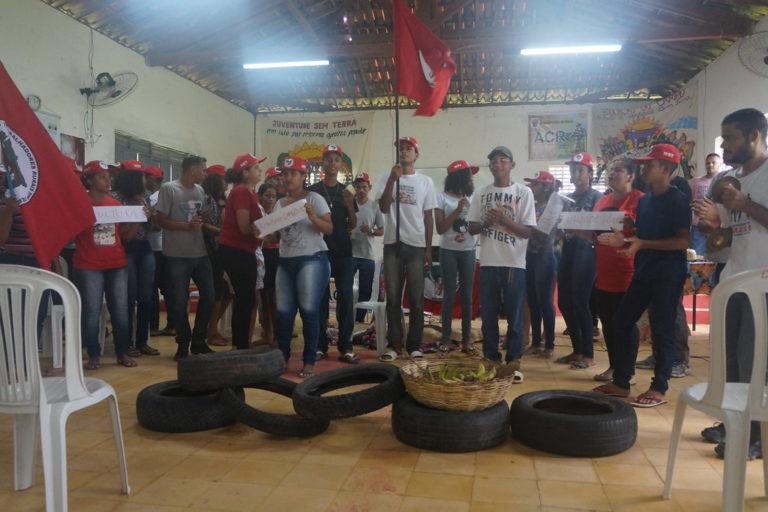 Juventude camponesa se reúne encontro estadual no Rio Grande do Norte para