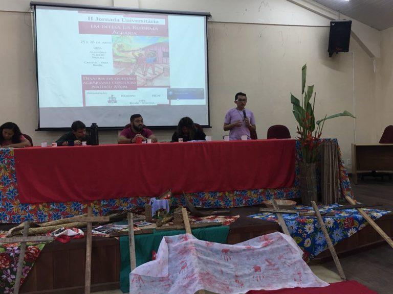Jornada em defesa da Reforma Agrária aproxima campo e cidade no Pará