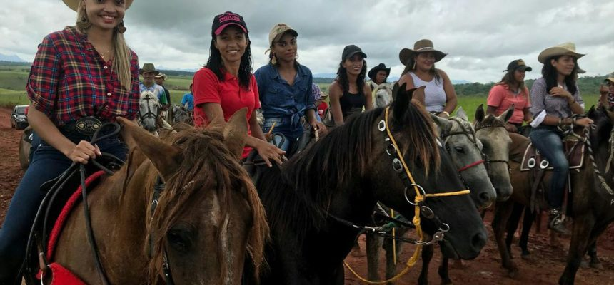 Assentamento Jaci Rocha realiza 1º Montaria de Mulheres