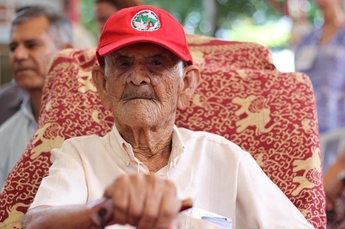 107 anos de luta e poesia! Nossa homenagem a seu Luiz Beltrame