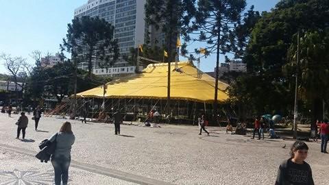 Curitiba sediará o Circo da Democracia com a participação de mais de 100 entidades