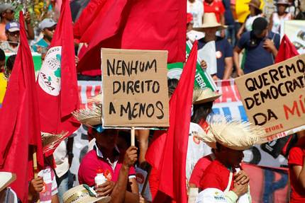 Frente Brasil popular convoca ato com Dilma em São Paulo