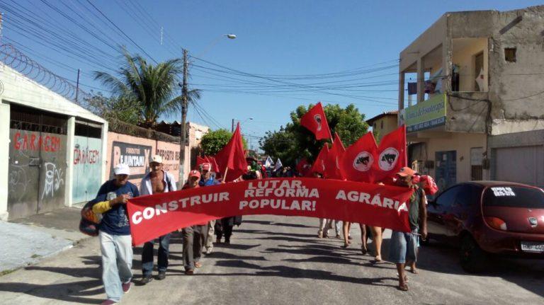 MST mobiliza as cinco regiões do país em jornada por Reforma Agrária e contra o golpe