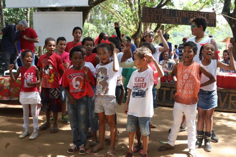 MST realiza 1º Encontro Nacional das Crianças Sem Terrinha
