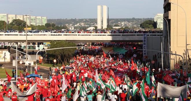 Acampamento Nacional em defesa da democracia e contra o golpe inicia neste domingo