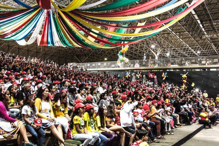 sorrir e lutar: Sem Terrinha iniciam Encontro Nacional em Brasília