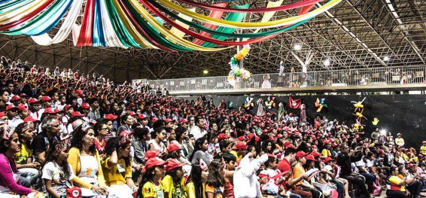 Brincar, sorrir e lutar: Sem Terrinha iniciam Encontro Nacional em Brasília