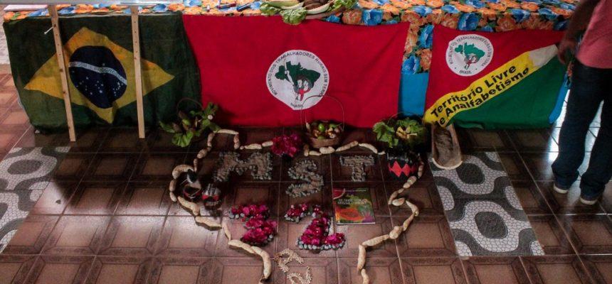 MST realiza o 1º Curso Estadual de Formação de Militantes da Bahia