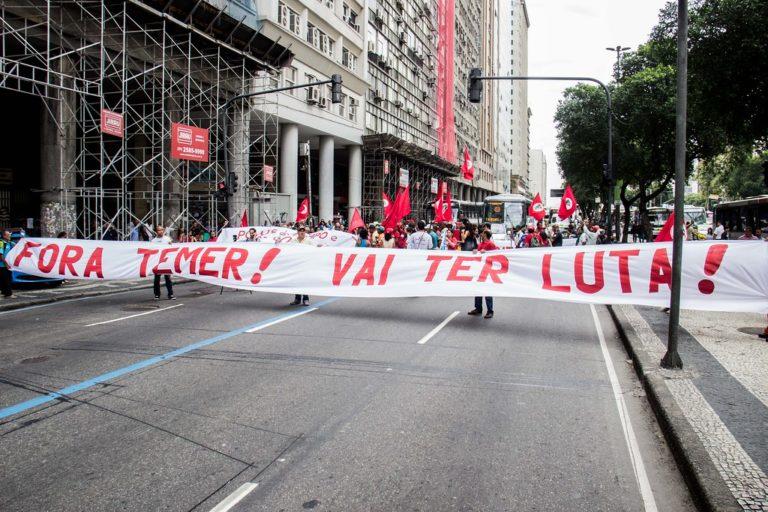 Movimentos do campo realizam manifestação no Incra do RJ