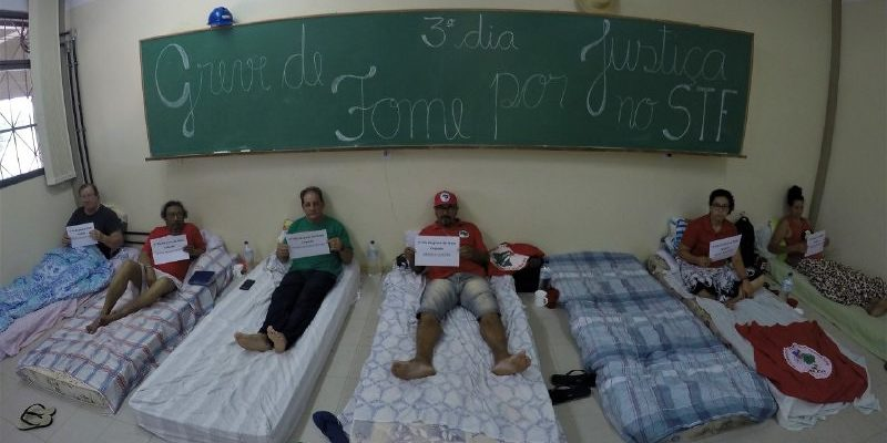 Via Campesina Internacional se solidariza com militantes em greve de fome
