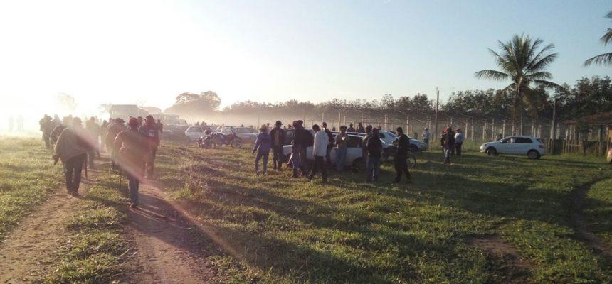 MST reocupa a fazenda no extremo sul da Bahia