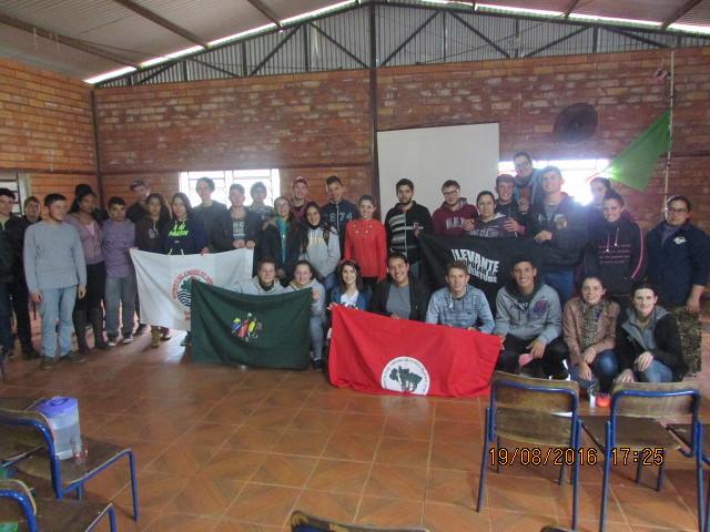 Sem Terra participam da Jornada Nacional da Juventude Sem Terra no RS