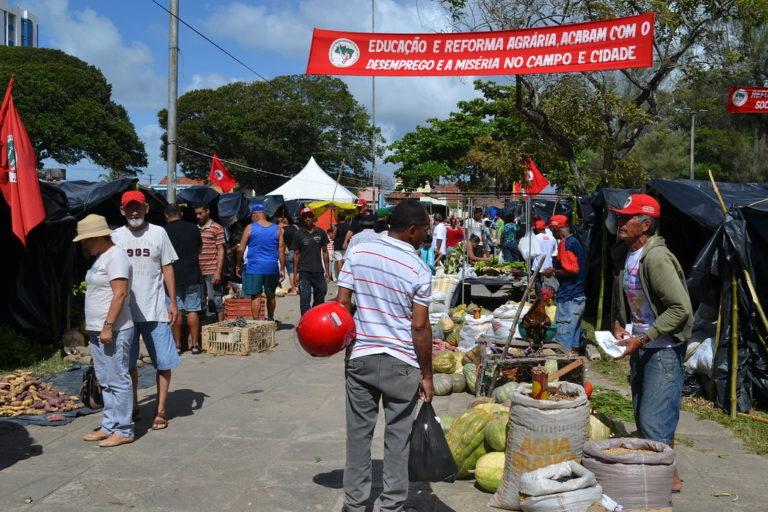 MST realiza 17ª Feira da Reforma Agrária em Maceió