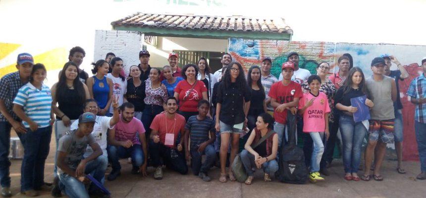 Juventude Sem Terra realiza oficina no Pontal do Paranapanema