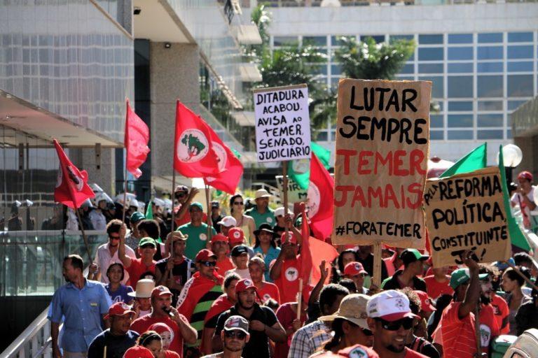 Organizações do campo afirmam continuidade das mobilizações após acampamento unitário