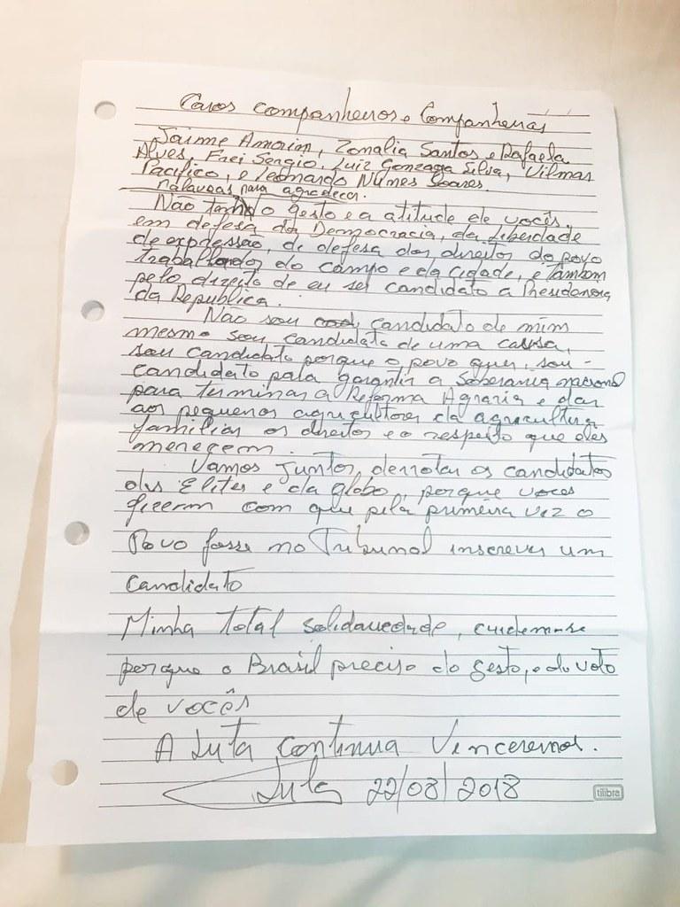 Carta de Lula aos 7 Grevistas de Fome por Justiça no STF.jpg