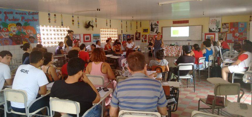 No Ceará, Escola Florestan Fernandes Nordeste recebe curso de Realidade Brasileira