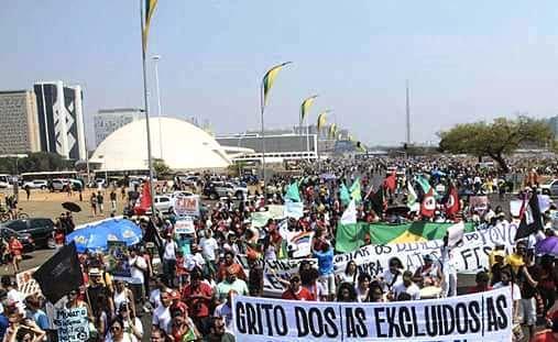 Movimentos convocam população do DF para o Grito