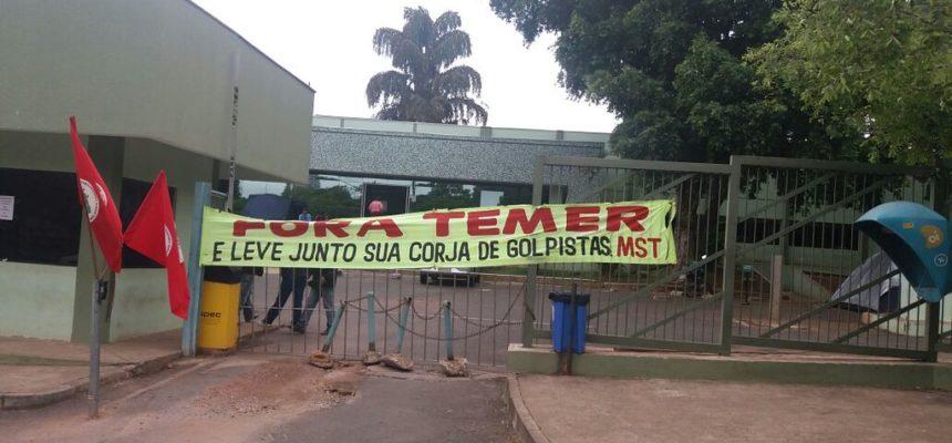Camponeses reivindicam assentamento das famílias acampadas em Mato Grosso